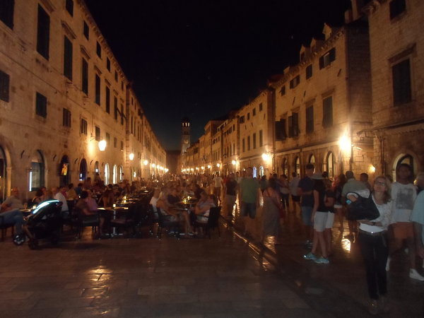 Dubrovnik-avond