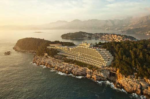 hotel croatia uitzicht